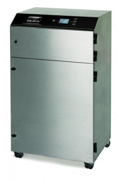 350m³/h agresyvių mechaninio PVC gaminių apdirbimo lazeriu dūmų ištraukimo filtras AD PVC iQ