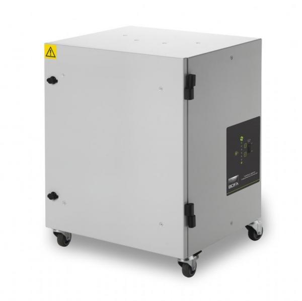 285m³/h dulkių ištraukimo ir filtravimo sistema DustPRO Universal