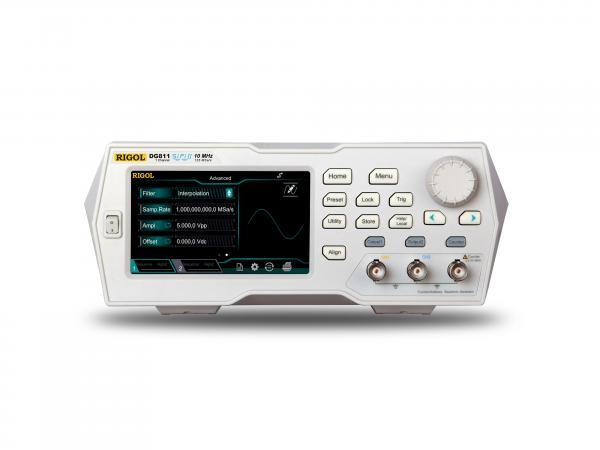 10MHz, 16bit, 125MSa, 2Mtšk. laisvos formos ir funkcinių signalų generatorius