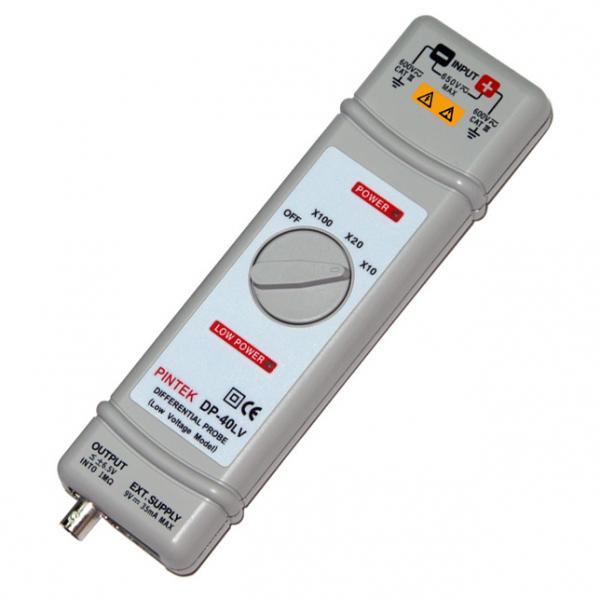 40MHz, 650Vp-p, 10mV jautrumo diferencinės įtampos osciloskopo zondas