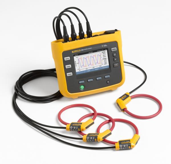 Nešiojamas elektrinės galios, suvartotos energijos bei elektros kokybės duomenų kaupiklis su oscilogramų atvaizdavimu, srovės matavimo jutikliais ir WiFi/BLE adapteriu