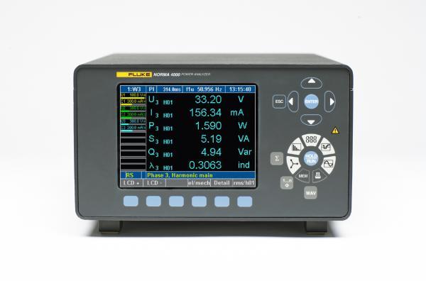 Trijų fazių galios analizatorius Norma 4000, DC...3 MHz, 341 kS/s, tikslumas 0,2% su GPIB/LAN sąsaja