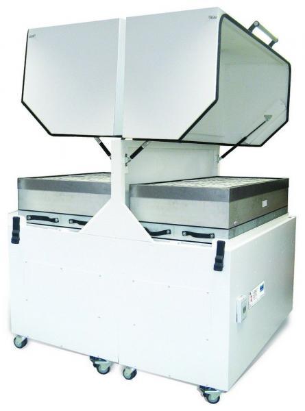 4000m³/h didelės apimties spausdinimo garų bei dūmų ištraukimo ir filtravimo sistema PrintPRO 4000