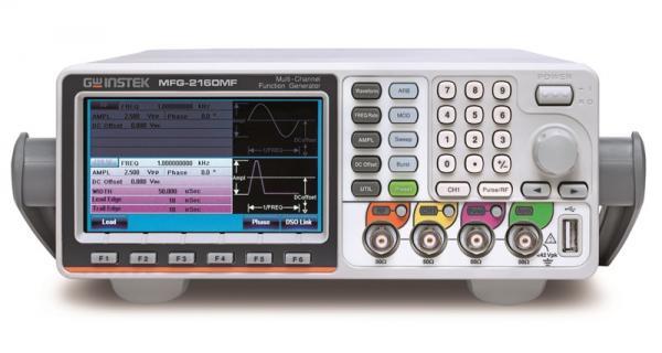 60MHz, 200MSa/s, 14bit, 16ktšk. laisvos formos ir funkcinių signalų generatorius su moduliacijomis ir 160MHz RD signalų generatoriumi