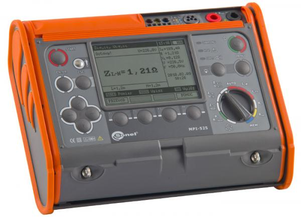 Multi-Function Meter MPI-525 (ISO test voltage 2500V)