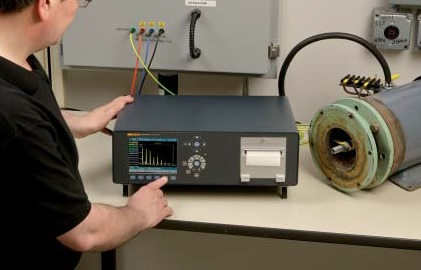 Šešių fazių galios analizatorius Norma 5000, DC...3 MHz, 341 kS/s, tikslumas 0,03% su GPIB/LAN sąsaja ir spausdintuvu