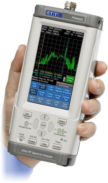 10MHz - 6GHz delninis RD spektro analizatorius