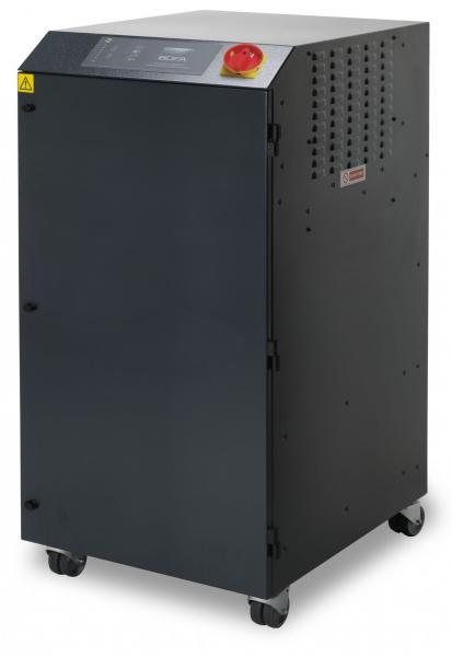 1200m³/h spausdinimo garų bei dūmų ištraukimo ir filtravimo sistema PrintPRO 1200 DS su dvigubu akytuoju, hidrofobiniu HEPA ir dujų filtrais, pritaikyta sublimacinės spaudos mašinoms