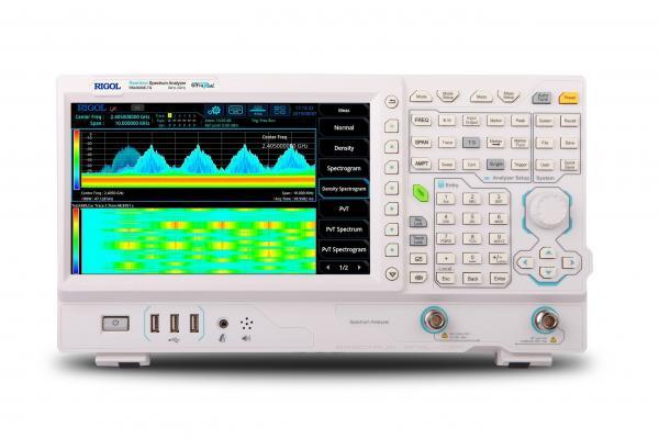 9kHz-1.5GHz, SSB-102dBc/Hz, RBW 1Hz tikralaikis (Real-time) spektro analizatorius su TG skenuojančiu generatoriumi, EMS parinktimi ir NFP-3 (artimo lauko jutiklių rinkiniu)