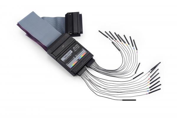 Loginių kanalų zondas, 16-kanalų, 500MSa/s, SDS1000X+ osciloskopams