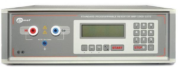 Automatinis rodyklinių ir skaitmeniniams izoliacijos varžos matuoklių kalibratorius SRP-100k0-5T0