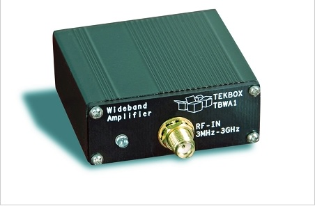 Pirminis plačiajuostis 20dB 2 MHz – 6 GHz stiprintuvas