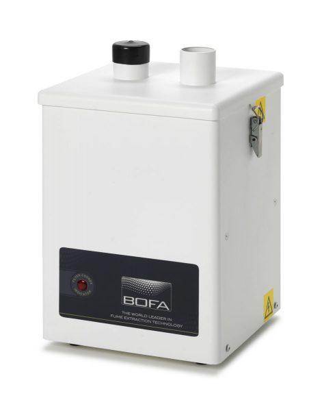 180m³/h dvikanalis litavimo dūmų ištraukimo filtras V250