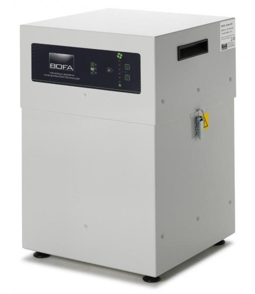 """350m³/h centralizuota litavimo dūmų ištraukimo ir filtravimo sistema V600, su 24V Stop/start ir """"laikas keisti filtrą"""" moduliu"""