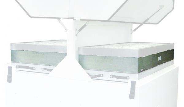 V4000 (E1843A), AD 4000 (L2643A) filtravimo sistemos HEPA filtrai, 2 vnt.
