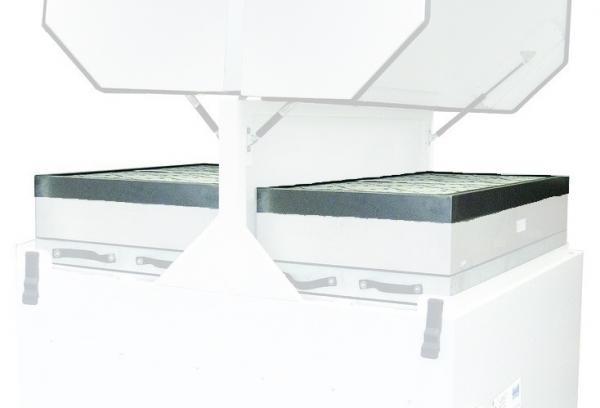 Mechaninio apdirbimo lazeriu dūmų ištraukimo ir filtravimo įrenginio AD4000 (L2643A) pirminiai filtrai DeepPleat su giliomis klostėmis (2 vnt.)