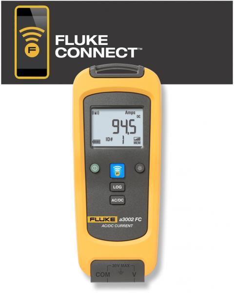 Kintamosios AC True RMS iki 600 A ir nuolatinės DC iki 1000 A srovės matavimo modulis su beviele Fluke Connect® sąsaja