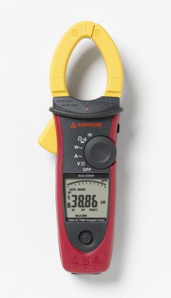 CAT IV 1000A AC True-rms Navigator™ Clamp Meter