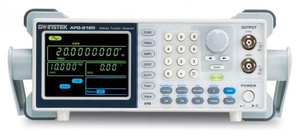 12MHz, 20MSa/s, 10bit, 4ktšk. laisvos formos ir funkcinių signalų generatorius