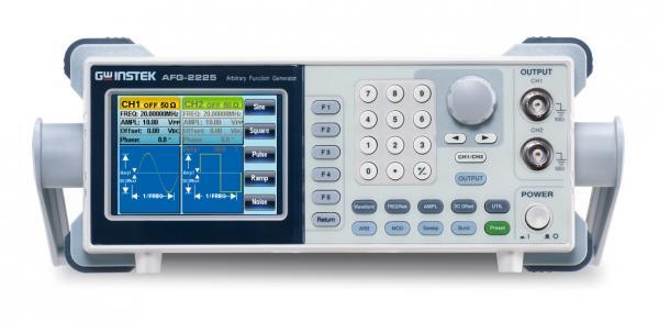 2-jų kanalų, 25MHz 120MSa/s, 10bit, 4ktšk. laisvos formos ir funkcinių signalų generatorius