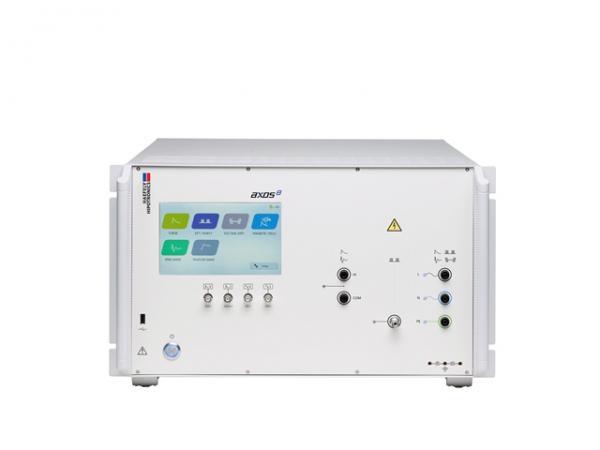 Kompaktiška 7kV atsparumo SURGE, Ring Wave, Telecom Wave, elektriniam sparčiajam pereinamajam vyksmui EFT ir impulsų vorai BURST testavimo sistema su įtampos kryčių bei trūkių simuliavimo funkcija