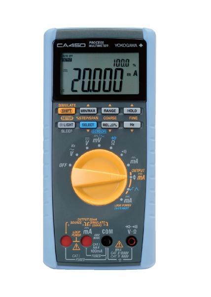 3,6 skaitmens multimetras - uždarųjų sistemų 4-20mA srovės matuoklių kalibratorius su 24Vdc maitinimo šaltiniu