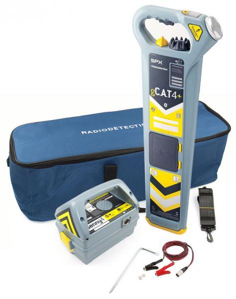 Požeminių kabelių ieškiklis su gylio matavimo funkcija
