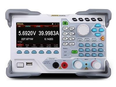 1V - 150V, 40 A, 200 W precizinė programuojama elektroninė apkrova su LAN sąsaja ir spalviniu ekranu