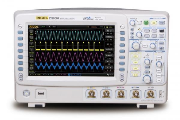 600 MHz, 4-ių kanalų, 5GS/s skaitmeninis osciloskopas