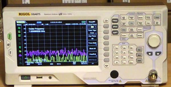 9kHz – 7,5GHz RD spektro analizatorius