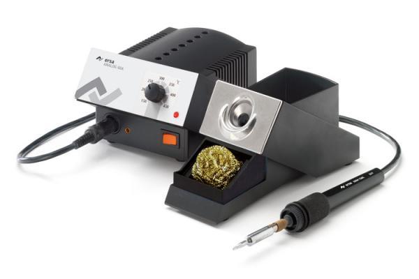 60W analoginė visiškai antistatinė litavimo stotelė ANALOG 60 A su antistatiniu lituokliu Ergo tool