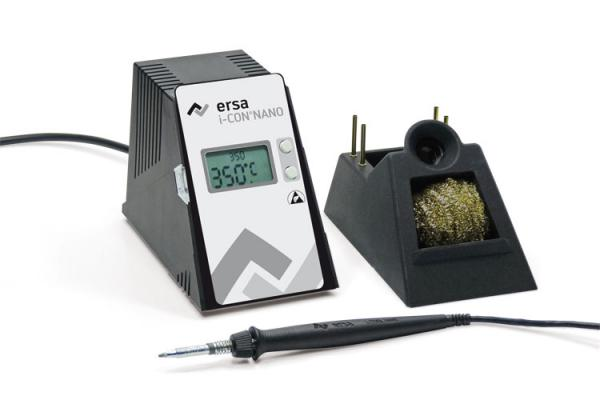 i-CON NANO electronically temperature-controlled soldering station, antistatic with i-Tool NANO soldering iron