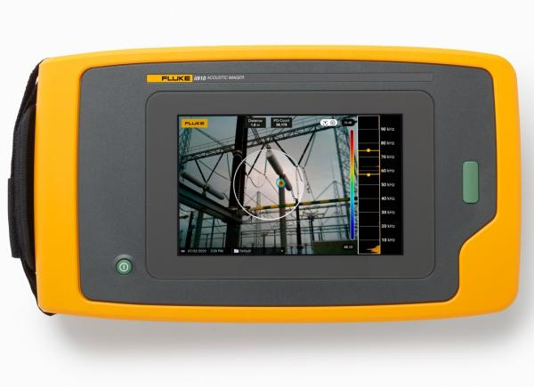 Fluke ii910 Precision Acoustic Imager for gas leakage and discharge detestion