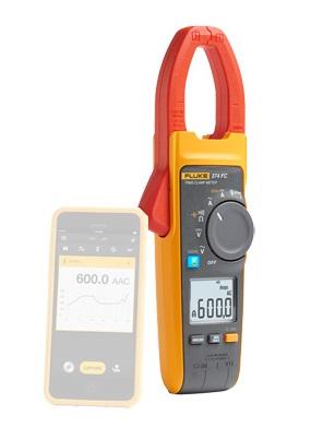 Kintamosios AC True RMS ir nuolatinės DC iki 600A srovės matavimo replės su beviele Fluke Connect® sąsaja ir lizdu lanksčiai srovės matavimo kilpai iFlex