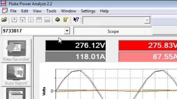Programinė įrangos Fluke Power Analyze licenzija