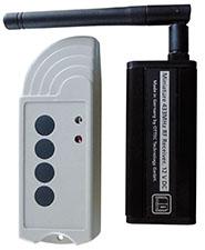 Tiny FX/CX nuotolinis radio valdymas,siųstuvas ir imtuvas, Mini-Stereo-Jack-3,5 mm kištukas