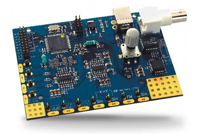 Oscilloscope and logic analyzer education and training kit