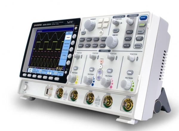 500MHz, 2-jų kanalų skaitmeninis osciloskopas, su 20,3cm spalviniu SVGA ekranu