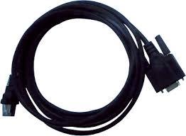 RS485 kabelis, 2m ilgio, su DB9F ir RJ45 jungtimis