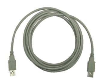 USB 1.1 A-A tipo 1,8m ilgio kabelis GDM-8255A / 8251A multimetrams