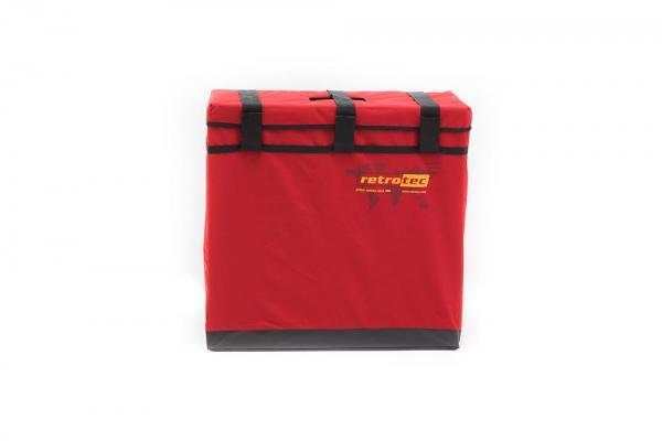 Pakietintas Retrotec ventiliatorių transportavimo krepšys