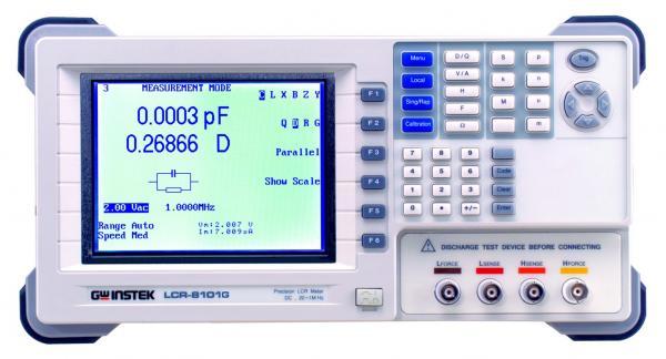 1MHz precizinis LCR matuoklis (nuo 20Hz), bazinis tikslumas 0,1% su RS-232C ir GPIB sąsajomis