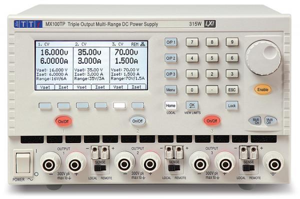 375W Trijų kanalų, kelių režių DC maitinimo šaltinis 120V, 20A