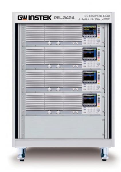 0 - 800 V, 210 A, 4200 W programuojama elektroninė apkrova