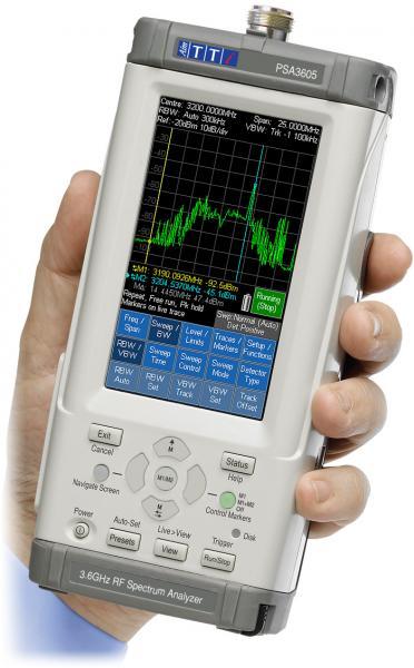 10MHz - 3,6GHz delninis RD spektro analizatorius