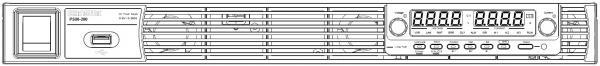 1440W vieno kanalo programuojamas impulsinis DC maitinimo šaltinis 8V, 180A