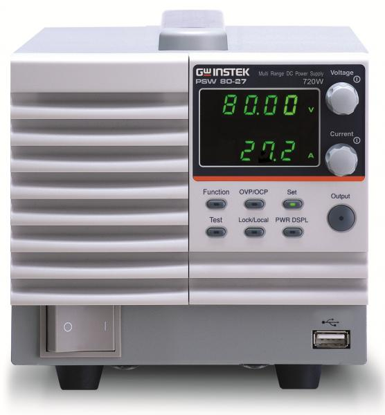 720W vieno kanalo kelių rėžių DC maitinimo šaltinis, 0-80V, 0-27A
