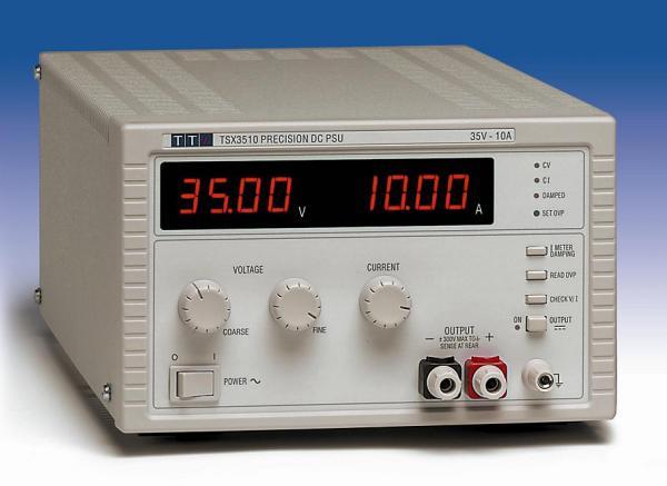 350W Vieno kanalo DC maitinimo šaltinis 35V, 10A