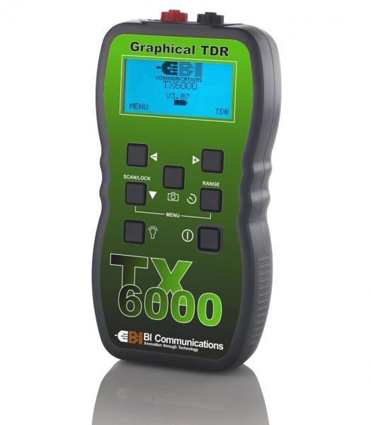 Grafinis reflektometras - kabelio ilgio matuoklis su atstumo iki defekto nustatymo skyra 14 cm, tono generatorium ir atmintimi