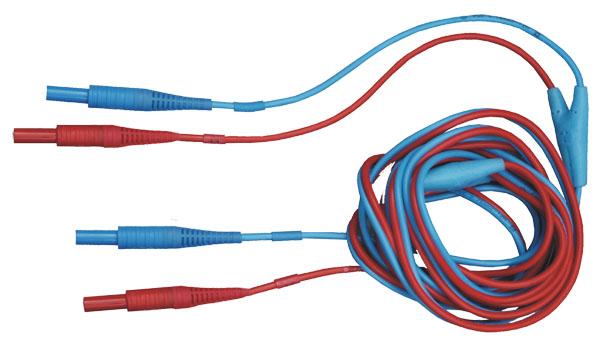 3m ilgio dvigyslis matavimo laidas U1,I1 mikroommetrams ir MZC-310S